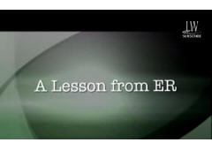 A Powerful Lesson from ER