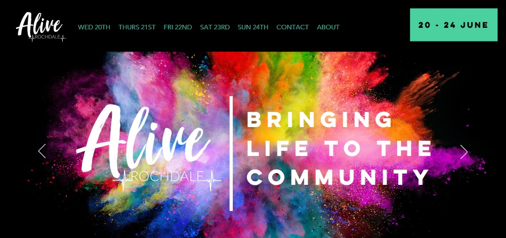 alive rochdale mission - alive this summer