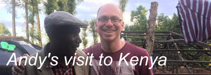 andy's visit to kenya