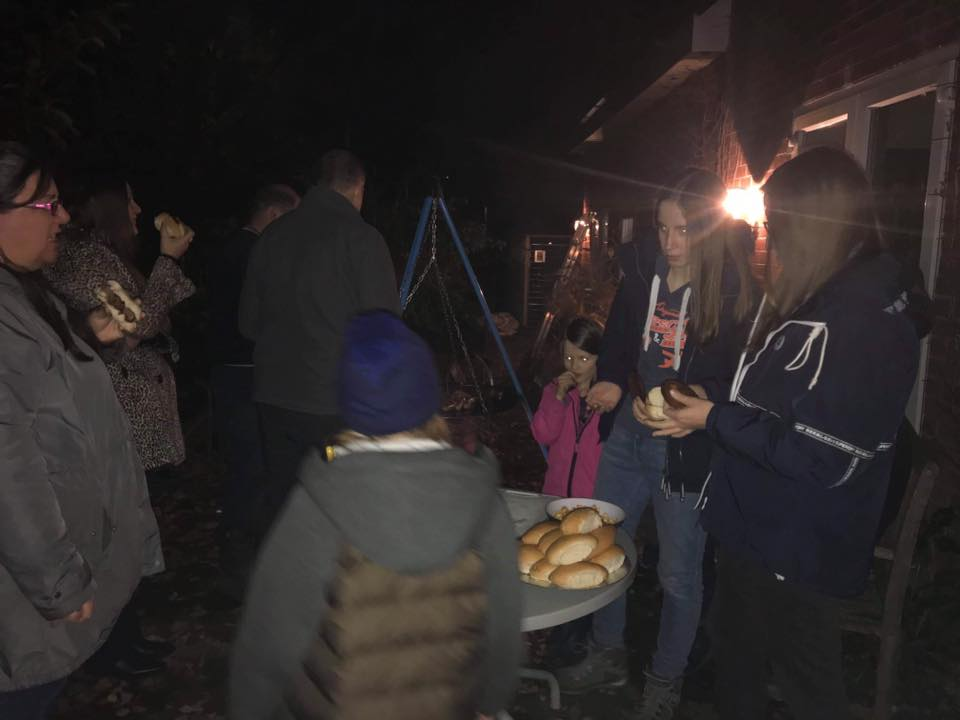 Newbold Baptist Church Bonfire celebration 2019
