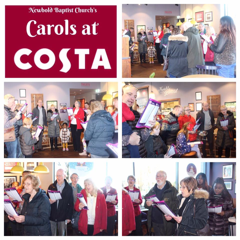 Carols at Costa 9th Dec 2018
