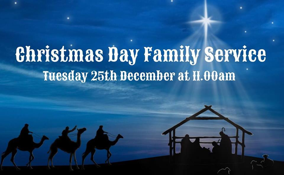 Christmas services at Newbold Baptist Church.