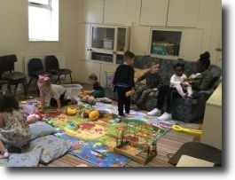 children in newbold creche
