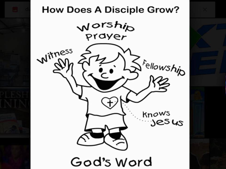 Newbold Discipleship Group - How does a disciple grow