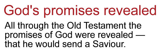 click here for the gods promises revealed message