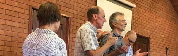 Gordon Williamson welcomed into eldership