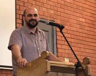 Newbold Baptist Church Steve Pilkington at Newbold 3rd March 2019