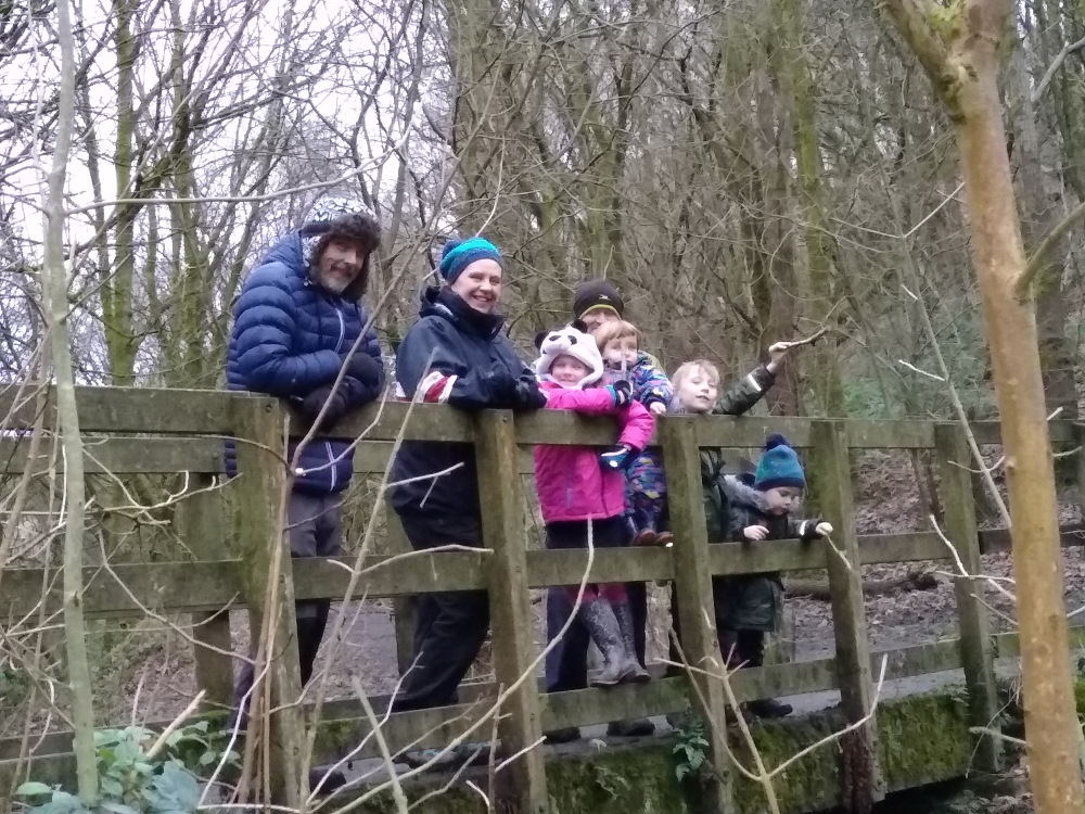ashworth valley family friendly walk 11th January 2020