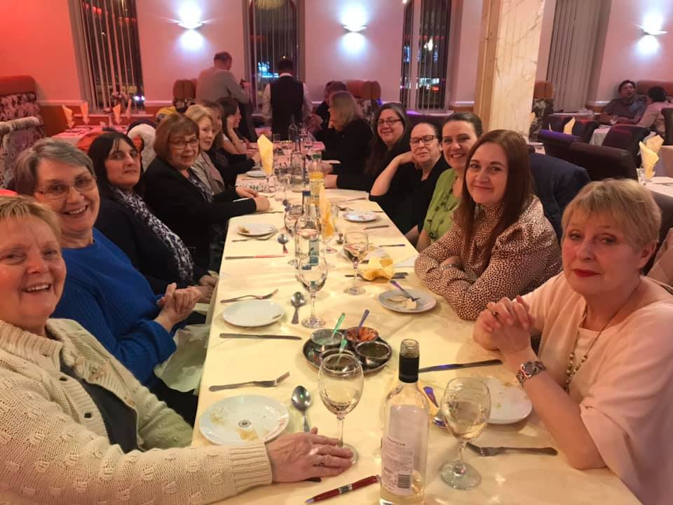 women together curry night