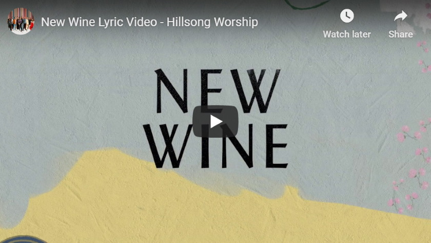 new wine worship songs